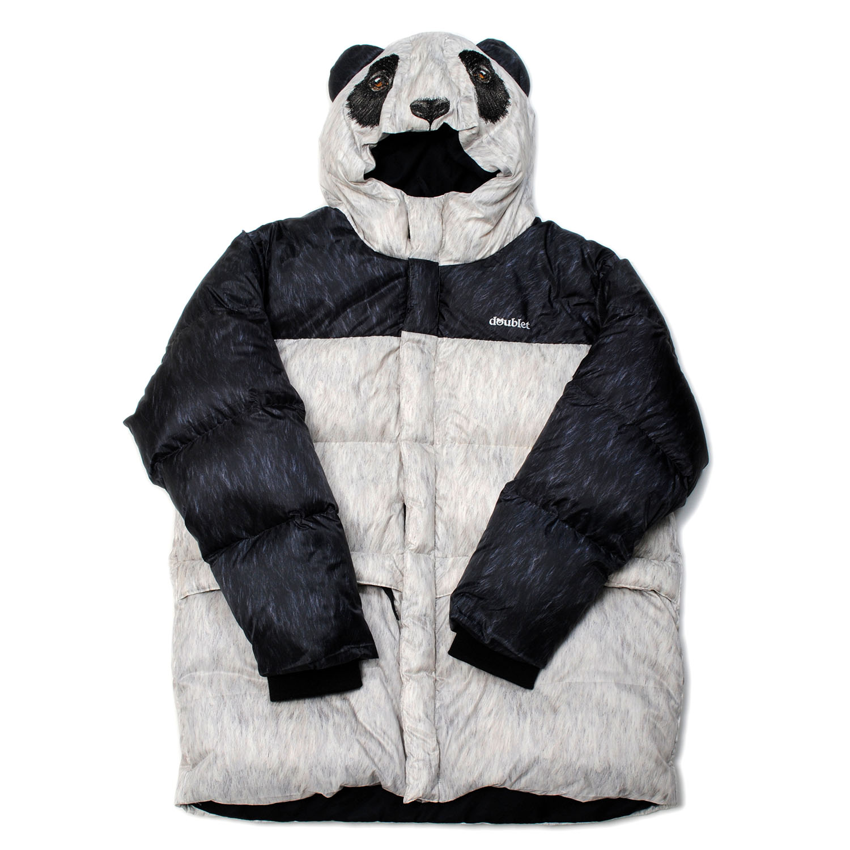 Panda Animal Costume Down Jacket