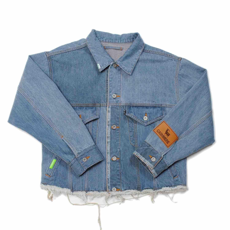 Indigo Upcycle Original Denim Patchwork Jacket