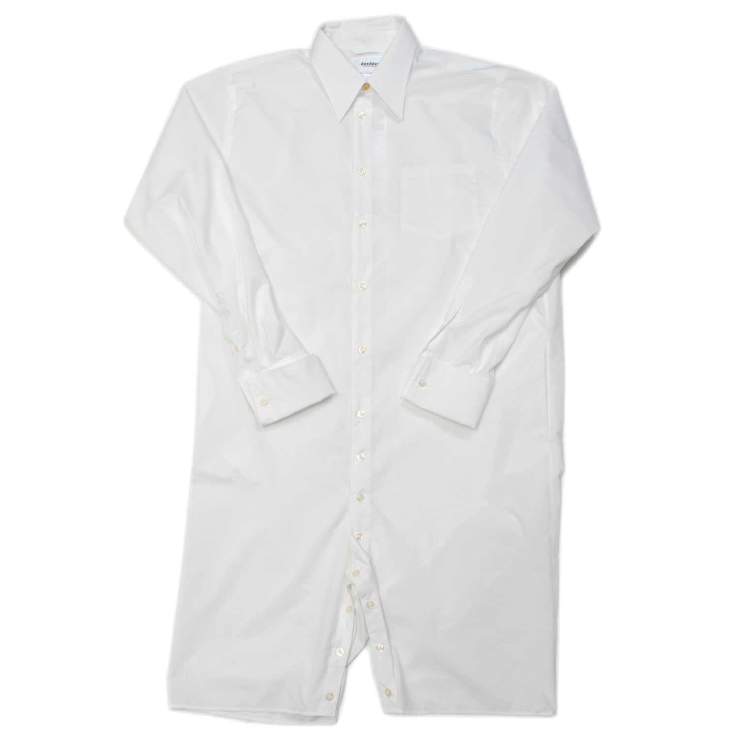 White Rompers Shirt