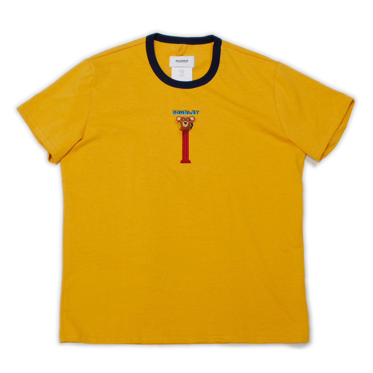 Yellow Puppet Embroidery T-shirt