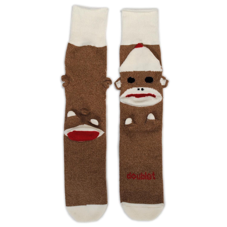 Brown Sockmonkey Socks
