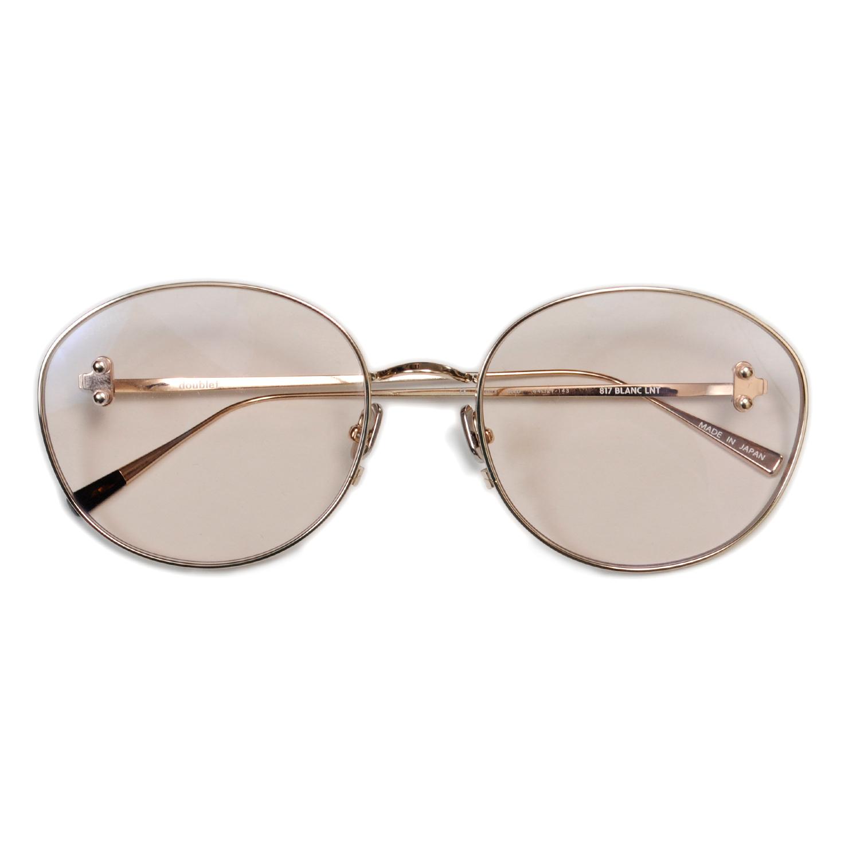 L.Brown/Gold Metal Flame Sunglasses